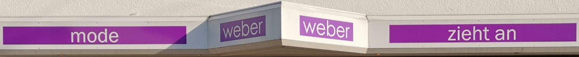 Mode Weber Geschäft header