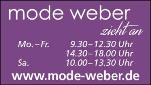 mode weber öffnungszeiten