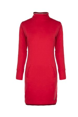 Soquesto Kleid in rot
