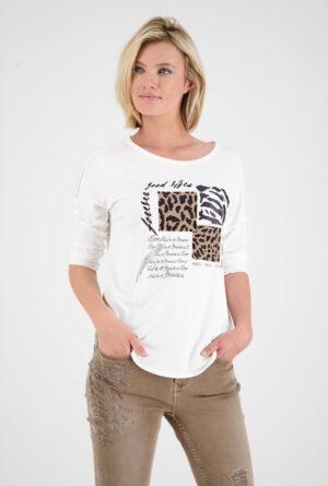 805262_Monari-Shirt-¾-Arm-offwhite