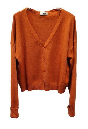 Diff Strickjacke orange 2