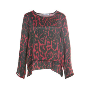 Funky Staff Bluse Cory Leopard
