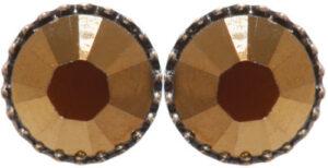 5450543897073___Konplott-Ohrstecker-Black-Jack-brown-crystal-dorado