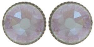 5450543897974___Konplott-Ohrstecker-Black-Jack-lila-crystal-cappucciono-delite