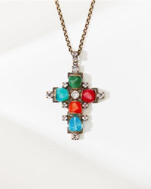 5450543914275___Konplott-Kette-lang-mit-Anhaenger-Candycal-multi-light-antique-brass