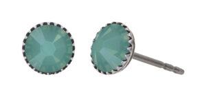 5450543919980___Konplott-Ohrstecker-Black-Jack-green-pacific-opal-antique-silver