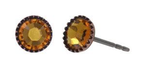 5450543920672___Konplott-Ohrstecker-Black-Jack-yellow-topaz-antique-copper-2