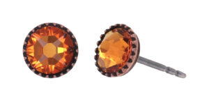5450543920696___Konplott-Ohrstecker-Black-Jack-orange-tangerine-antique-copper