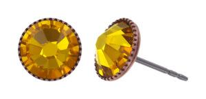 5450543920702___Konplott-Ohrstecker-Black-Jack-yellow-sunflower-antique-copper