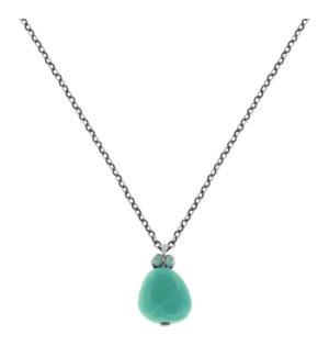 5450543923307___Konplott-Kette-mit-Anhaenger-Candycal-blue-light-tuerkis-antique-silver