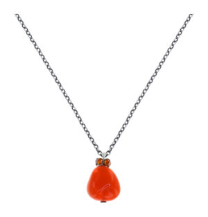 5450543923352___Konplott-Kette-mit-Anhaenger-Candycal-red-orange-light-antique-silver