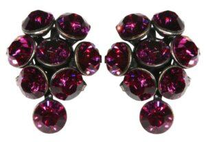 5450527611916Konplott-Magic-Fireball-Ohrstecker-Traube-fuchsia-pink