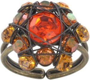 5450527760003___Konplott-Bended-Lights-Ring-in-orange-gelb