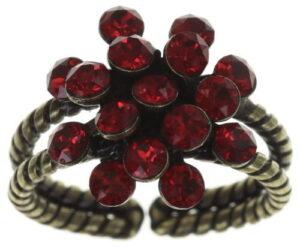 5450543664583-Konplott-Ring-mini-Magic-Fireball-red-crysatl-antique-brass