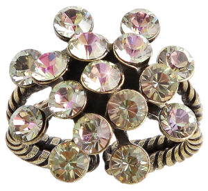 5450543683485Konplott-Ring-mini-Magic-Fireball-white-light-rose-crystal-antique-brass