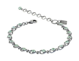 5450543743288Konplott-Armband-Magic-Fireball-green-light-crystal-antique-silver