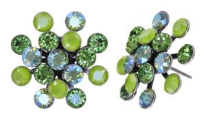 5450543904719_Konplott-Ohrstecker-–-Magic-Fireball-green-antique-silver-