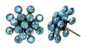 5450543914961_Konplott-Ohrstecker-–-Magic-Fireball-mini-green-erinite-shine-antique-brass-