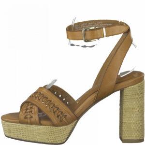 001-28340-26-Tamaris-Damen-High-Heel-Sandalette-in-Cognac
