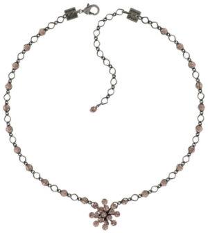 5450527611923Konplott-Magic-Fireball-Halskette-steinbesetzt-pink-Vintage-rose