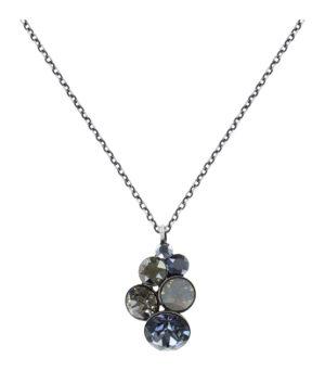 5450543906287___0Konplott-Halskette-mit-Anhaenger-Petit-Glamour-Silver-Carbon-1