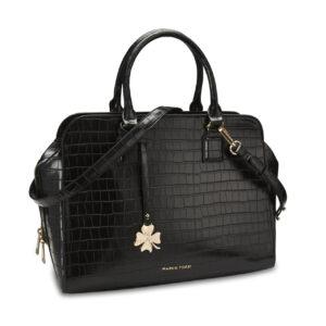 Tasche-schwarz-croco