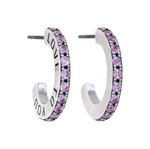 5450543941066___Konplott-Creolen-Daily-Glam-Pink-antique-silver-19mm